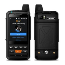 Uniwa F50 2.8 Inch Touch Screen WIFI GPS Unlocked 4G LTE Zello PTT Walkie Talkie <strong>Mobile</strong> <strong>Phone</strong>