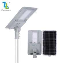 ZNELEA lighting ip65 waterproof outdoor smd aluminum 60w 100w 180w integrated all in one led solar street light