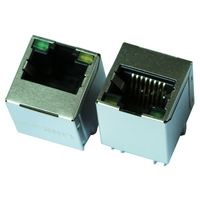 Shielded Vertical 8 Pin RJ45 Male and Female Connector V890-1AX1-A1