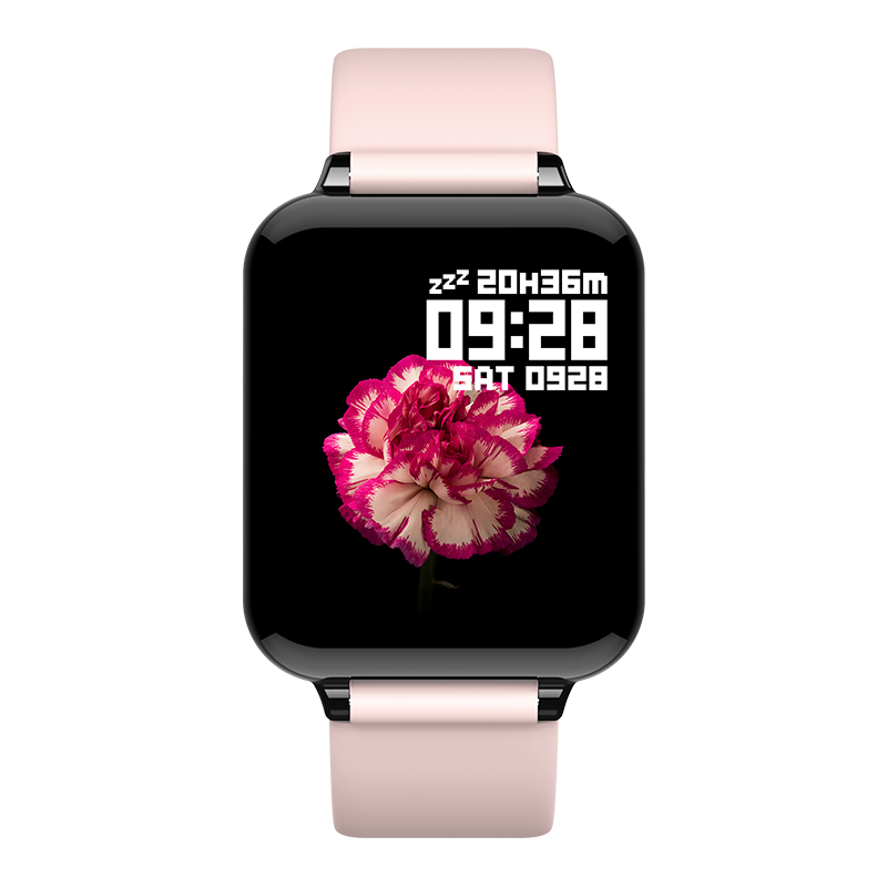 High Quality Latest Cheap Fitness Woman Blood Pressure Heart Rate Custom Logo <strong>Battery</strong> Drink Water Reminder Display Smartwatch
