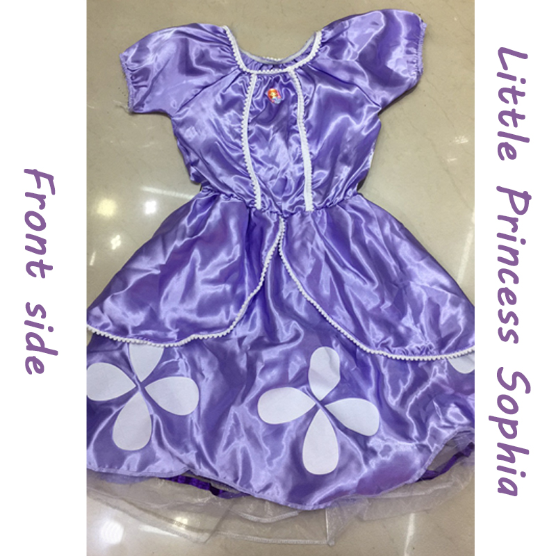 girls sofia dress princess sophia dress cosplay costumes