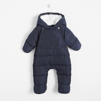 One Piece Warm Outerwear Children's Overalls Romper Kids Winter Jumpsuit Newborn Baby Snowsuit