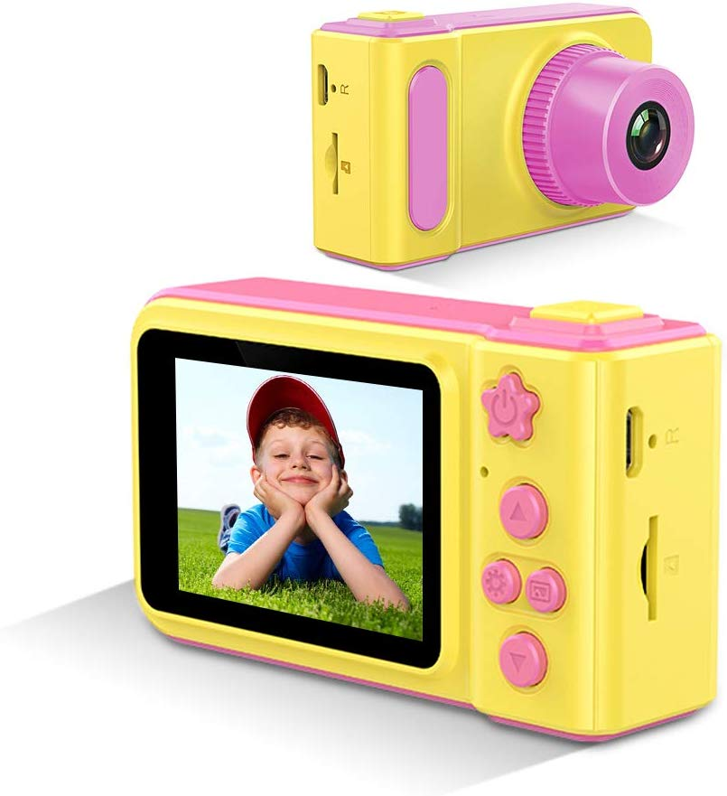 Children's Action <strong>Cameras</strong> Summer Vacation Kid 10.0 Mp Mini Attachable Cheap 2.8 Inch Pink Kids' Digital Camcorder