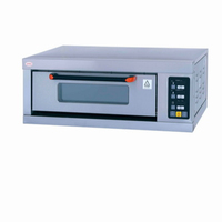 Intelligence stainless steel one /two/four/six/ nine trays electric oven for bread and pizza