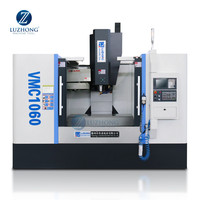 3 Axis 4 axis 5 axis VMC1060 Milling Machine CNC Vertical Machining Center for sale