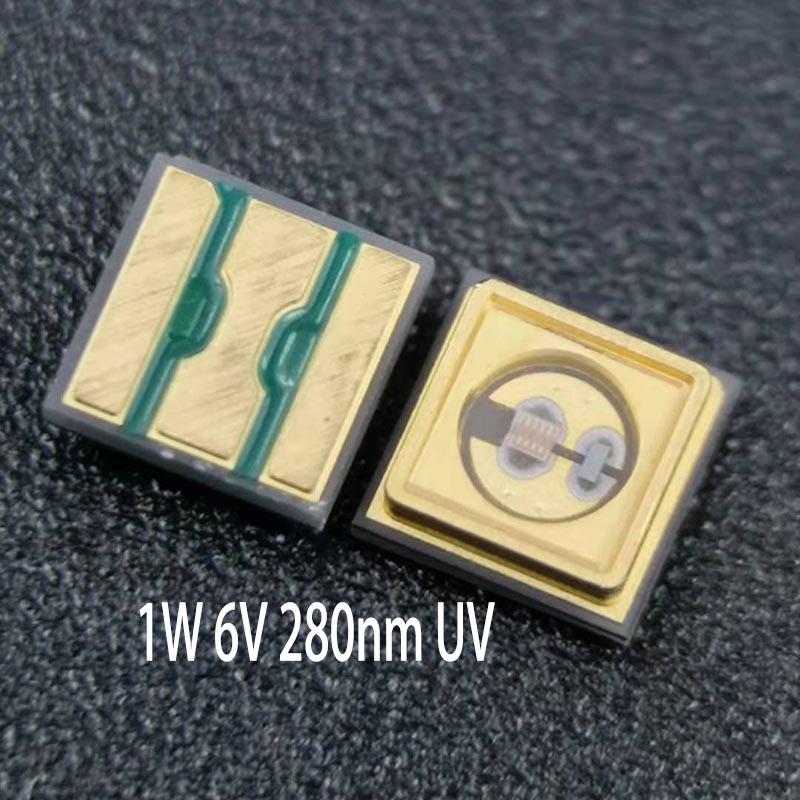 Medical Germicidal ,Disinfection SMD Chip 3535 Deep UV-<strong>C</strong> 260nm 265nm UV <strong>C</strong> LEDs Diode