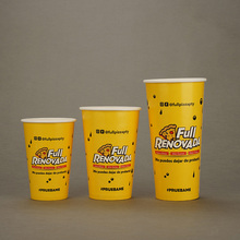 Wholesale Customized Food Container Company Logo Printed <strong>Paper</strong> Cups
