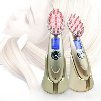 Portable electric massage power grow laser hair growth comb