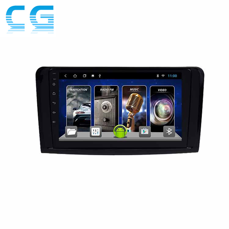 Android For <strong>Mercedes</strong>-Benz ML <strong>W164</strong> 2012-2015 Multimedia Stereo Car DVD Player Navigation GPS Video Radio IPS Playstore Bluetooth
