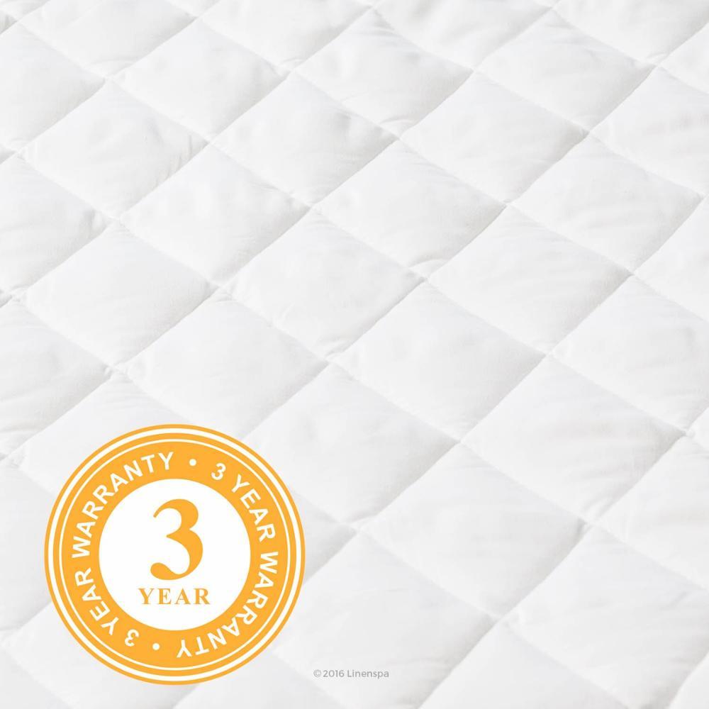 Hangzhou Home Bedding Hotel Quilted Mattress Protector Waterproof Bed Bug Proof - Jozy Mattress | Jozy.net