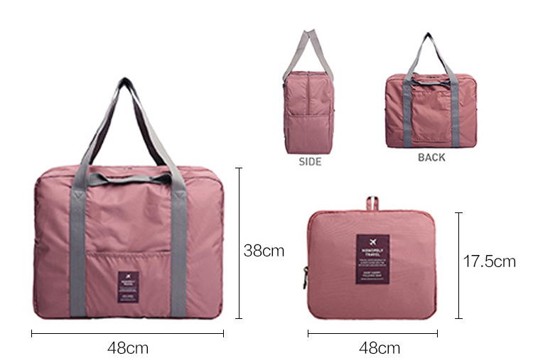 Hot sale duffle style waterproof durable nylon luggage foldable travel bag