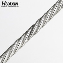 High Quality Grade 304 Stainless Steel Wire Rope 7*19 4mm