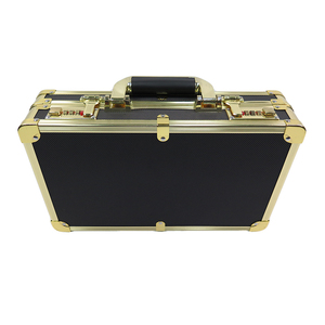 high quality wholesale carrying metal safe luxury display travel packaging custom storage gift case aluminum watch box
