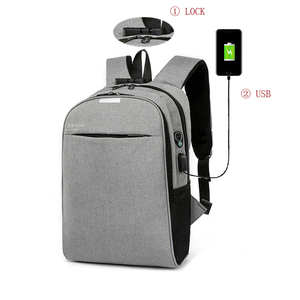 Large Capacity multifunction nylon waterproof USB charger back pack Anti theft Smart Laptop Backpack bag with USB Charging port