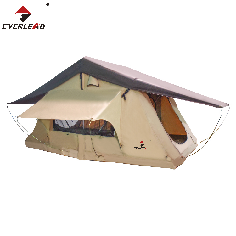 Beach sun protection fabric auto spuiten roof top camping tent