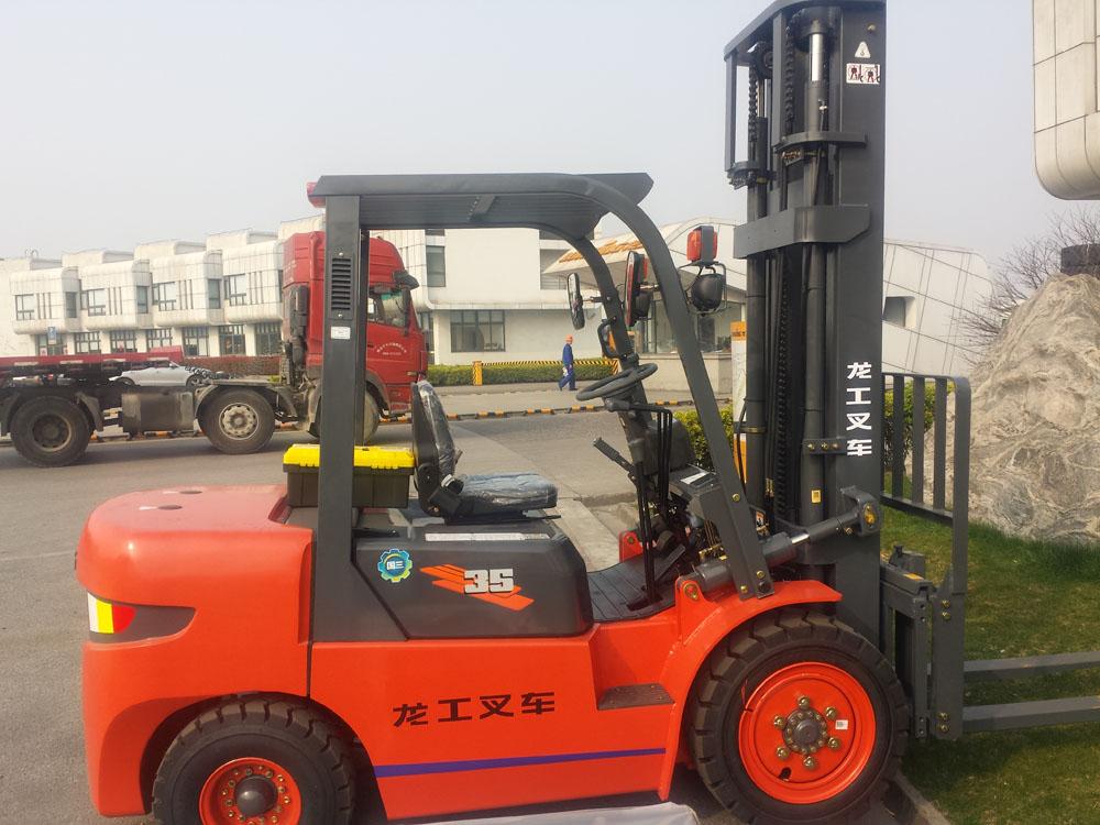 Forklift truck, transport expert