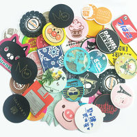 Promotional gifts eco-friendly silicone coaster pvc coaster cup mat