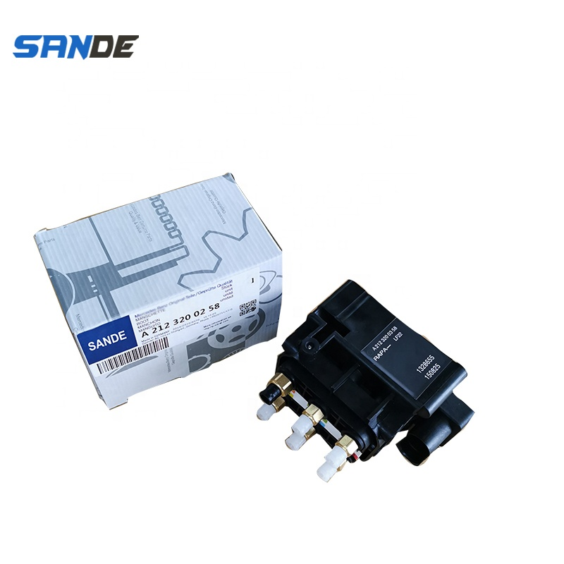 Valve Block 2123200358 For mercedes W251 <strong>W164</strong> W166 Suspension Solenoid Valve Block 212 320 03 58