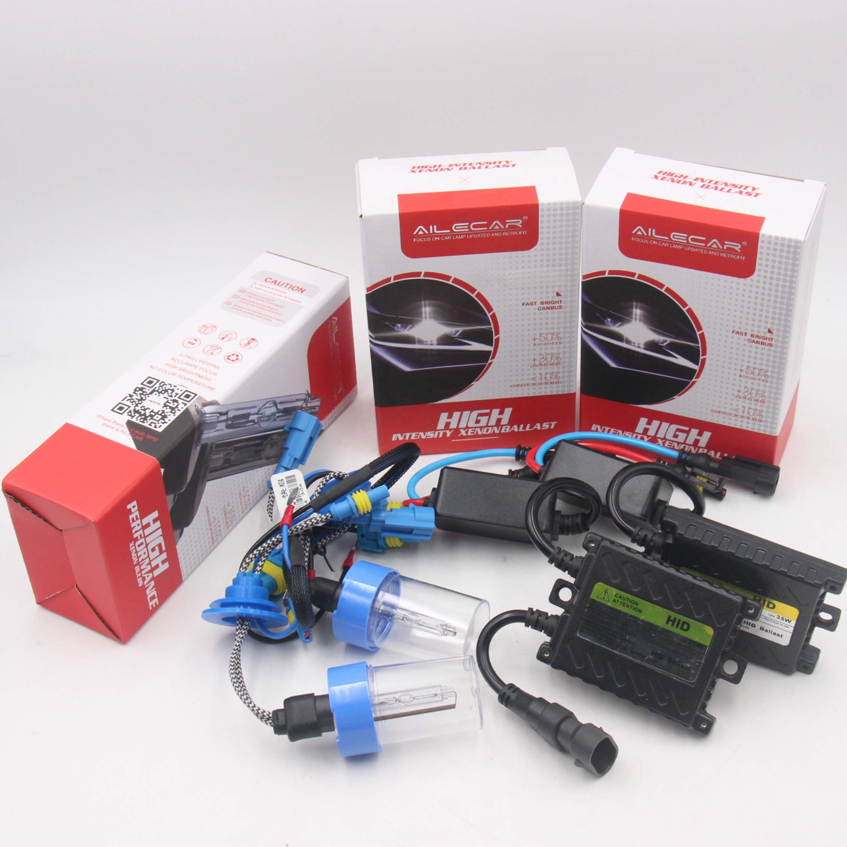 Fast Start 35W H1/H7/9005/9006 <strong>Hid</strong> Xenon Conversion <strong>Kit</strong> 4300k/5000k/6000k