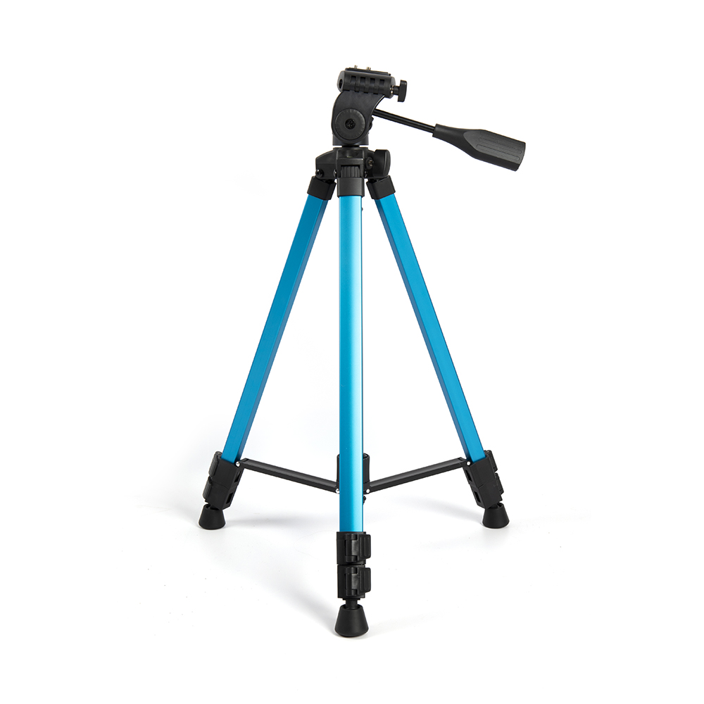 Sunrise Aluminum Alloy Professional Foldable Portable Tripod Stand for DSLR Camera Smartphone