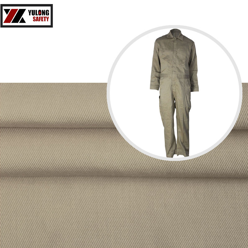 EN1149-1 100% Cotton Anti-static Fire Retardant Fabrics For Protective Clothing