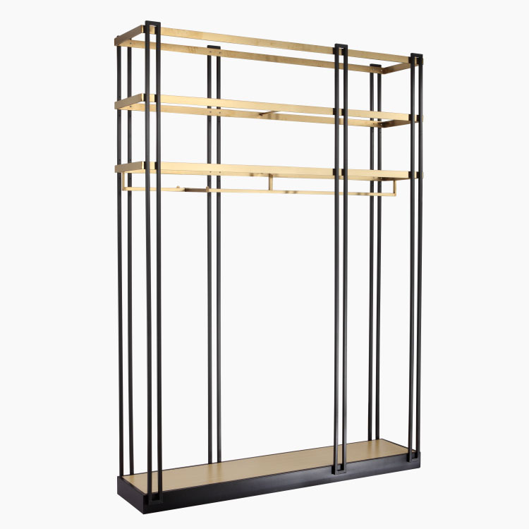 Limit Discounts Commercial Boutique Store Metal Clothing Display Cabinet For <strong>Retail</strong>