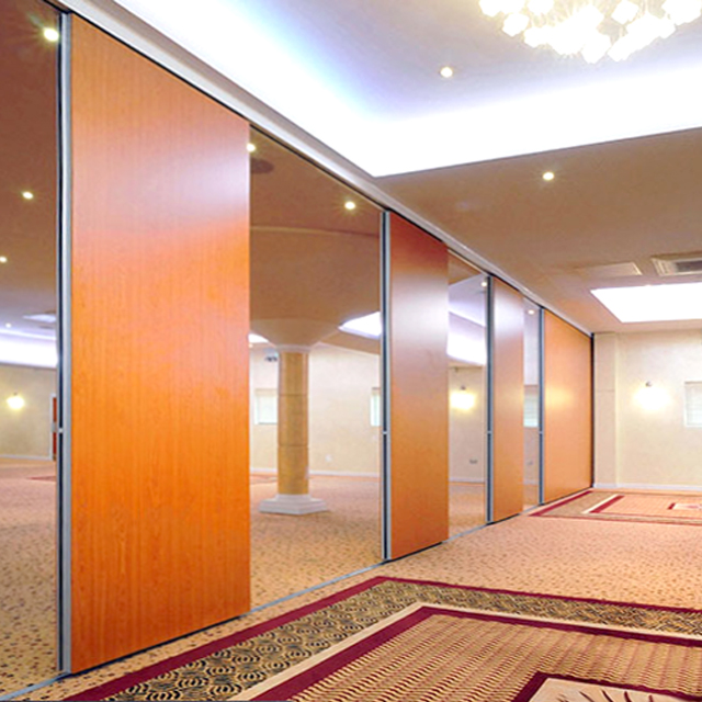 Movable acoustic wall <strong>panel</strong> for banquet decoration