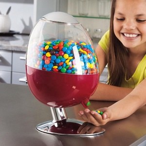 wholesale small&larger magic electric commercial office plastic acrylic candy dispenser