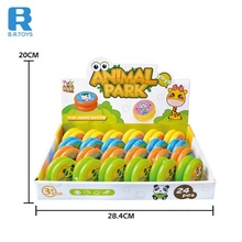 Promotional classic gift plastic dinosaur animal 5.5cm light-up <strong>yoyo</strong> toy for wholesale