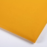 Home Textile 137cm Clothing Textures Yellow 100% Polyester Breathable Waterproof Tpu Coated Fabric