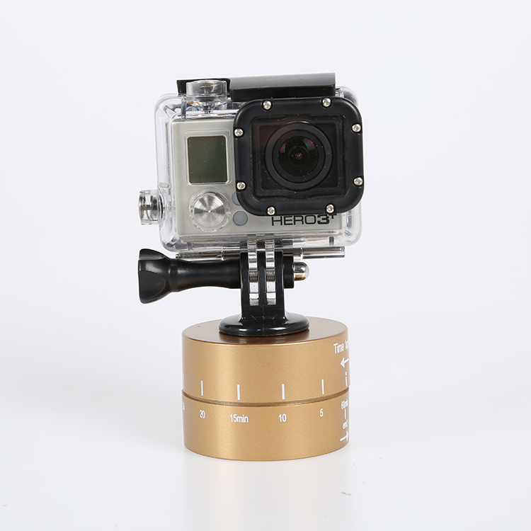 60 min Time Lapse 360 degree Rotating Automatic Timer Tripod Head Photography Delay Tilt Head