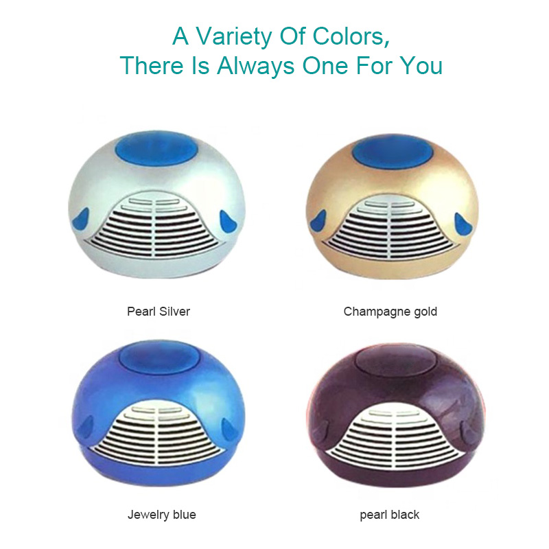 high quality outdoor portable necklace usb rechargeable ionizer air purifier cleaner