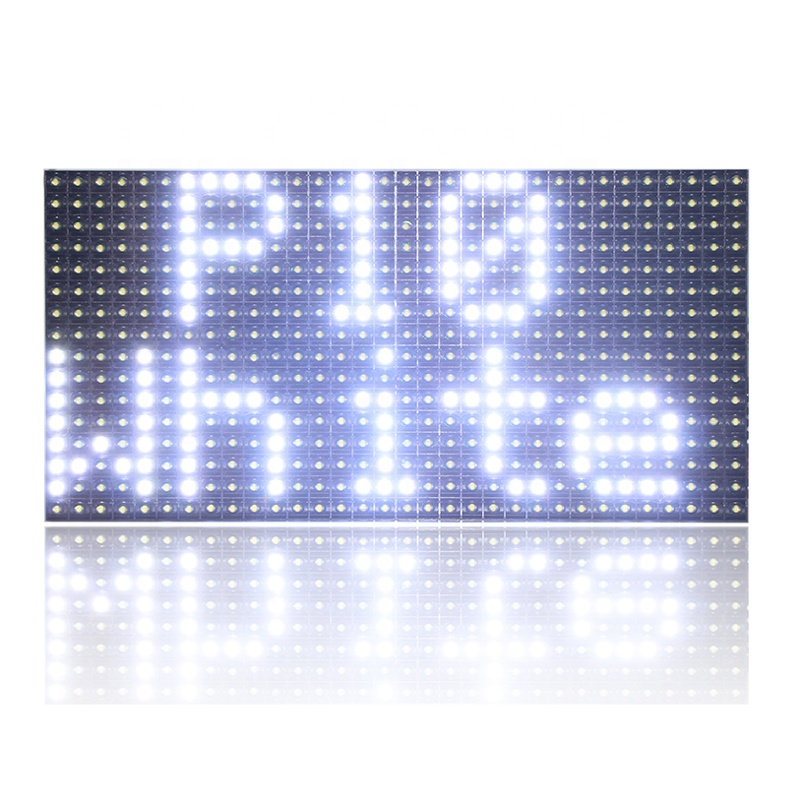 2020 free shipping wholesale price outdoor SMD <strong>LED</strong> display <strong>p10</strong> white color shop window <strong>led</strong> moving text sign <strong>module</strong> 320*160 mm si
