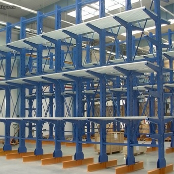 Pipe Storage Structural Cantilever Rack Q235 Steel Heavy Duty RAL System
