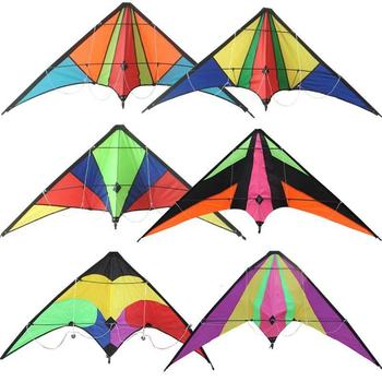 Wholesale Manufacturer provide easy flying high quality kids fun beach sport stunt delta kite from Weifang