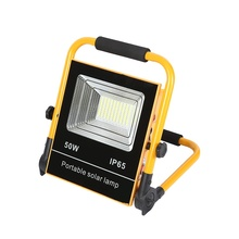 High Power outdoor camping <strong>emergency</strong> portable waterproof ip65 50w 100w solar <strong>led</strong> flood light