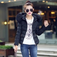 2019 Winter Jacket Women Thick Snow Wear Winter Coat Lady Clothing Female Jackets Fake Fur Women Down Jacket New