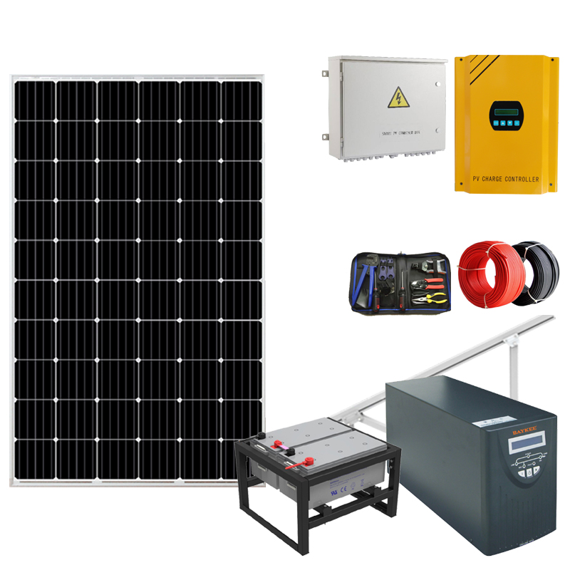 Small solar power hs code inverter system generator for home <strong>1000w</strong>/ 2kw 1kw