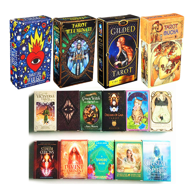 wholesale 20 styles funny game magic custom indoor adult tarot cards