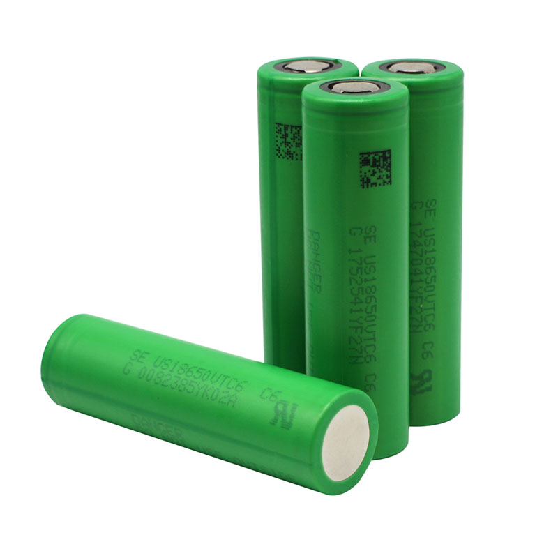 Free Shipping SE US18650 VTC6 3000mAh 18650 3.7V Li-Ion Rechargeable <strong>Batteries</strong> for Sony