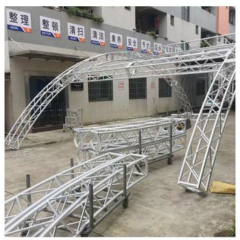 Hot sale aluminum Bolt truss stand for Display truss