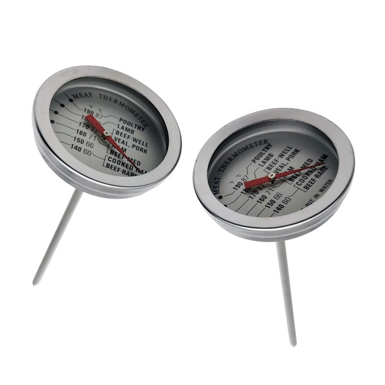 WENMEICE Waterproof Digital Food Thermometer BBQ Oven Meat Food Thermometer Folding