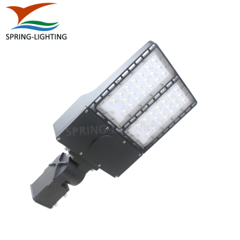 Die Casting Aluminum LED Street Light 100W 150W LED Outdoor Pole Light UL DLC Listed