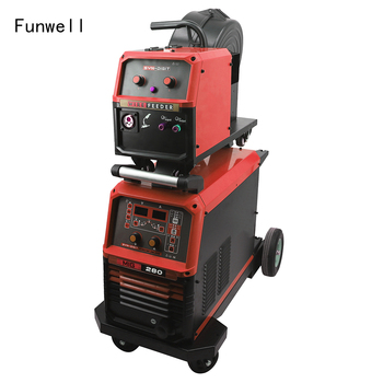 Funwell mig mag pulse welding machine portable 130