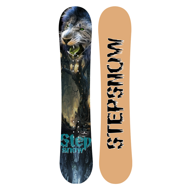 new design Fiber glass Camber <strong>W</strong> Bamboo snow board Factory Snowboard High Quality snowboard