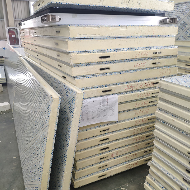 Insulated interior wall 300 mm thermal insulation pu sandwich metal roof <strong>panel</strong>