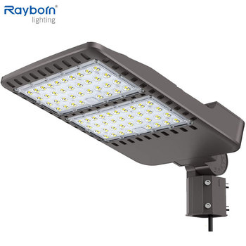 100w 150w 200w 300w Outdoor Shoebox Led Street Light Waterproof Parking Led Light Public Lighting with Photocell