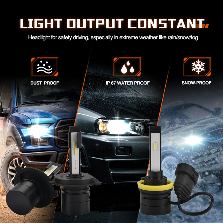 Auto Lighting System led car light headlight truck mini bike motorcycle h11 auto bulb led motorcycle headlight