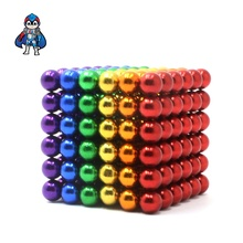 multi color magnetic balls 5mm 216pcs