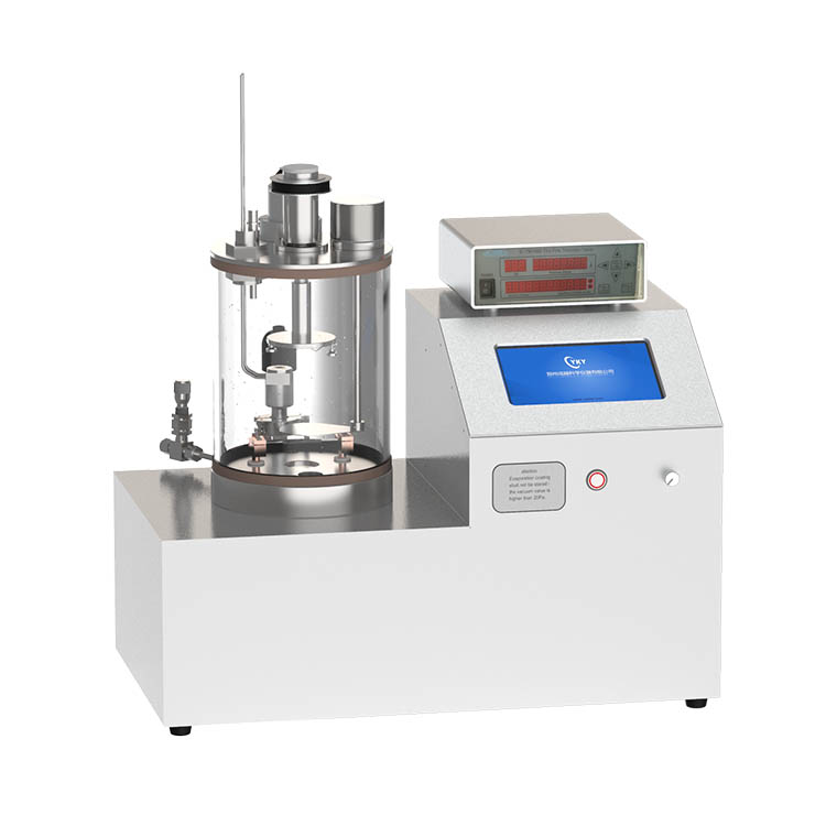 Small bench top pvd thermal evaporating deposition system for coating metal films